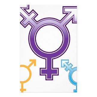 Sexuality Symbol Stationery