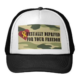Sexually Deprived for Your Freedom Trucker Hat