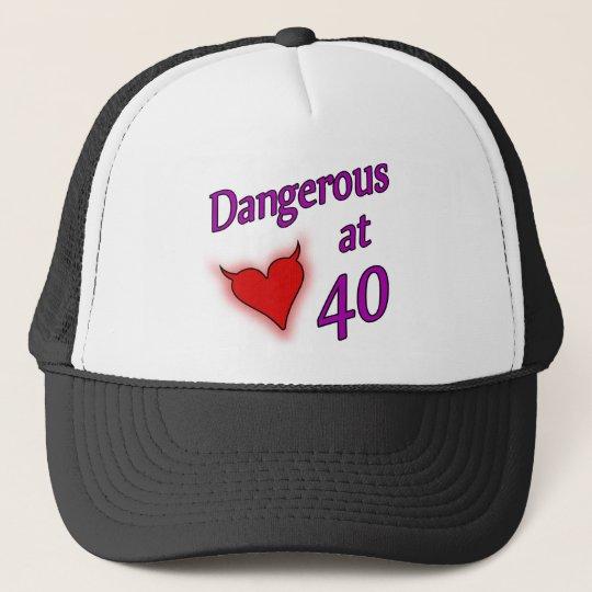 Sexy 40th Birthday Gift Idea Trucker Hat