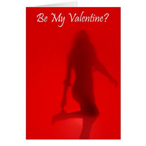 Sexy be my valentine card
