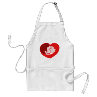 sexy coils adult apron