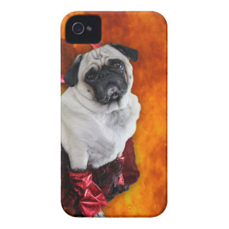 Sexy Devil Pug iPhone 4 Case