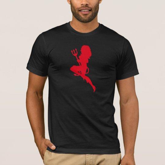 Sexy Devil Silhouette T-Shirt