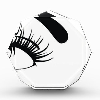 sexy-female-eyes-vector acrylic award