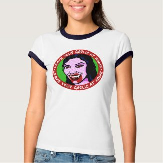 Sexy Female Vampire shirt