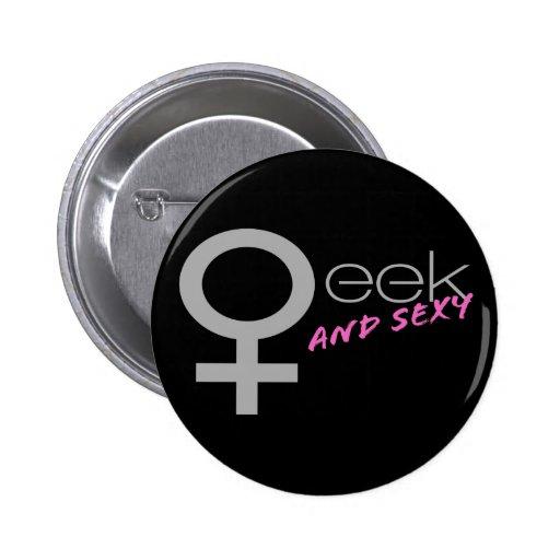 Sexy Geek Button