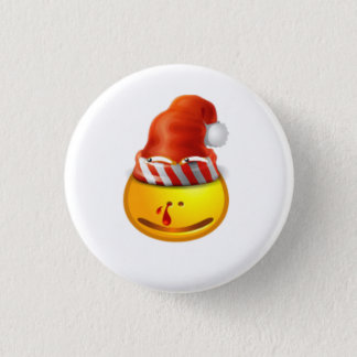 sexy girl christmas face button
