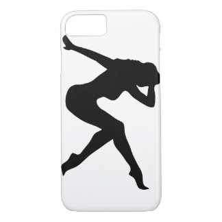 sexy girl_silhouette iPhone 7 case
