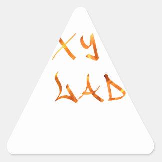 Sexy Lady Triangle Sticker