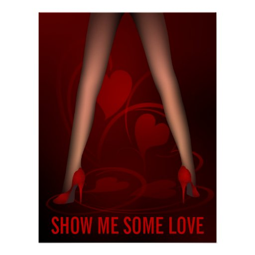 Sexy Legs - Show Me Some Love Poster