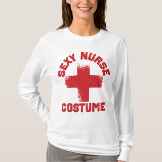 Sexy Nurse T-shirt Costume