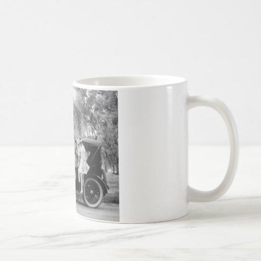 Sexy on Wheels, 1920s Coffee Mugs