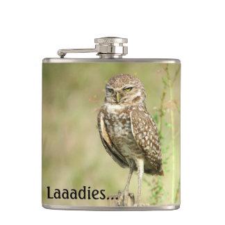 Sexy Owl Flask