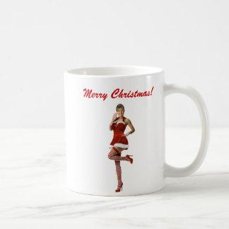 Sexy Palin Christmas(t shirt, xmas cards, buttons) Coffee Mug