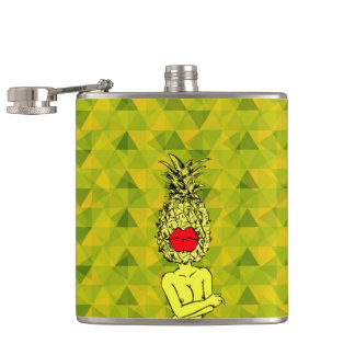 SEXY PINEAPPLE FLASK