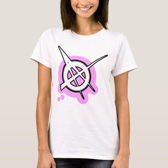 sexy punk rock girl T-Shirt