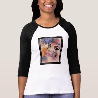Sexy sad face splash painting T-Shirt