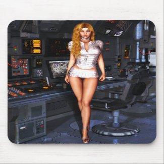 Sexy Sci-Fi Mousepad Mousemat