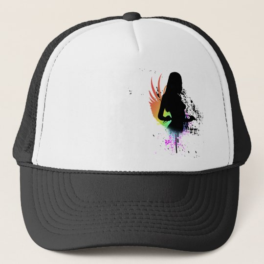sexy silhouette. hi-fi. v1. trucker hat