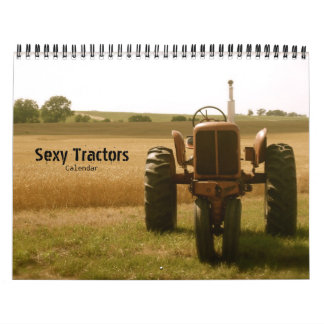 """Sexy"" Tractor Calendar -- Any Year"