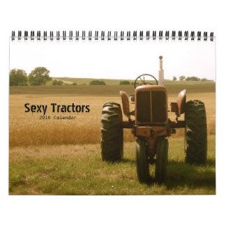 """""""Sexy"""" Tractor Calendar: Customize Year Calendar"""