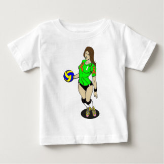 SEXY VOLLEY GIRL BABY T-Shirt