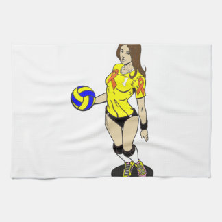 SEXY VOLLEY GIRL HAND TOWEL