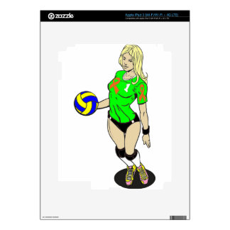 SEXY VOLLEY GIRL iPad 3 SKIN