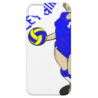 SEXY VOLLEY GIRL iPhone SE/5/5s CASE
