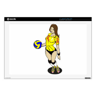 SEXY VOLLEY GIRL LAPTOP SKIN