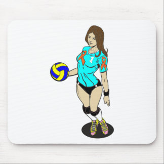 SEXY VOLLEY GIRL MOUSE PAD