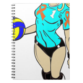 SEXY VOLLEY GIRL NOTEBOOK