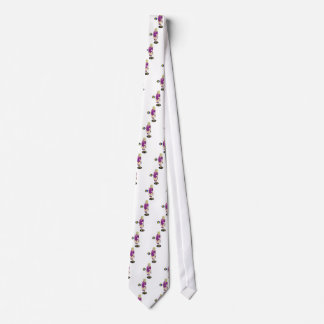 SEXY VOLLEY GIRL PINK RIBBON NECK TIE