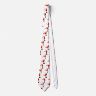 SEXY VOLLEY GIRL RED TEXT TIE
