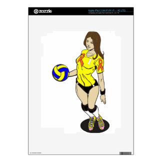 SEXY VOLLEY GIRL SKIN FOR iPad 3
