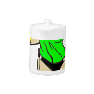 SEXY VOLLEY GIRL TEAPOT