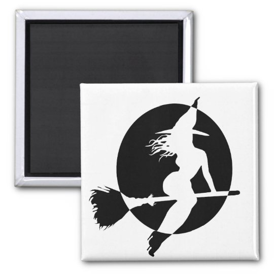 sexy witch magnet
