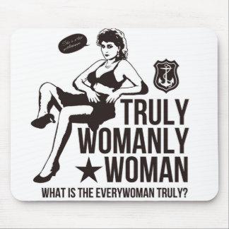 Sexy woman mouse pad