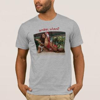 sexyarmbar, armbar, where? T-Shirt