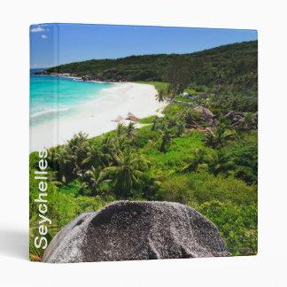 Seychelles 3 Ring Binder
