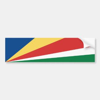 Seychelles/bandera de Seychelles Pegatina Para Auto