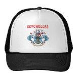 Seychelles Coat Of Arms Hat