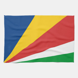 Seychelles Country Flag Towel at Zazzle