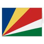 Seychelles Flag Card