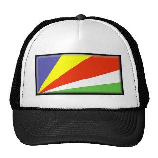 Seychelles Flag Hat