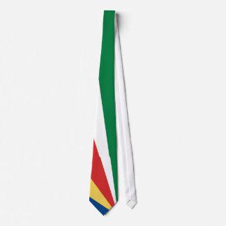 Seychelles Flag Neck Tie