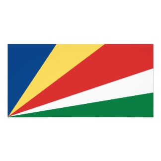 Seychelles Flag Photo Print