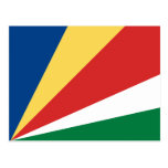 Seychelles Flag Postcard
