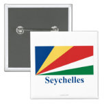 Seychelles Flag with Name Buttons