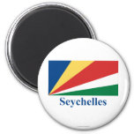 Seychelles Flag with Name Magnet